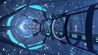 Sci Fi Corridor Bridge Tunnel