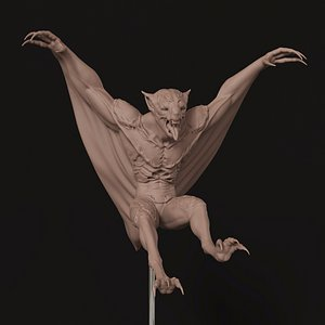 creature monster vampire 3D model