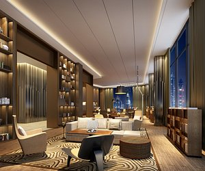 reception center interiors 3D model