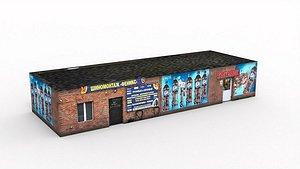 Roadside cafe 3D