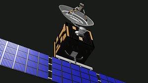 3D Satellite 3D model