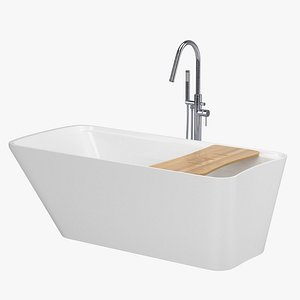 3D bath bathtub