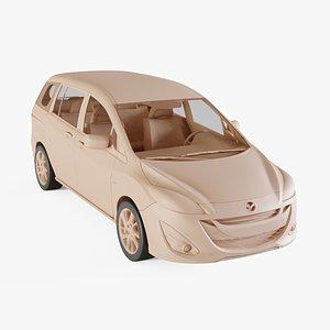 2011 Mazda 5 3D model