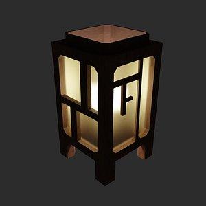 japan lamp 3D model