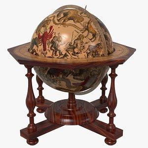 early celestial globe 3D model