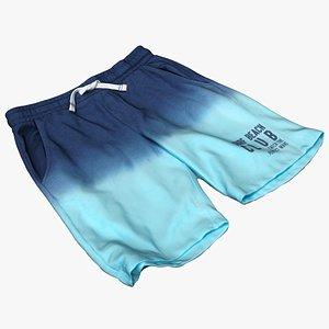 Clothes 240 Shorts 3D model