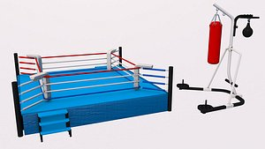 3D Kickboxing Collection 3D