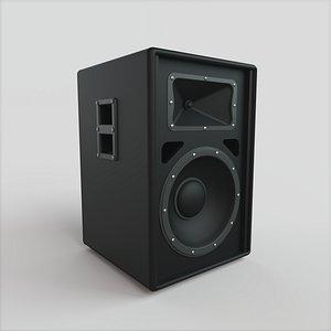 3D model Passive Speaker