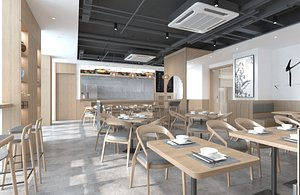 3D New Chinese Style Noodle Restaurant 1
