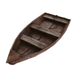 rowboat row boat 3D