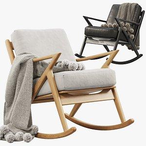 3D Joybird Soto Rocking Chair 3 options model