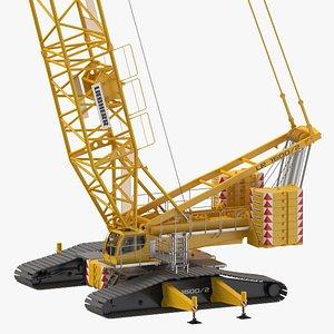 liebherr crawler crane lr 3D