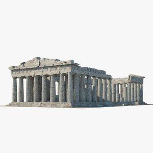 3D Parthenon ruins model