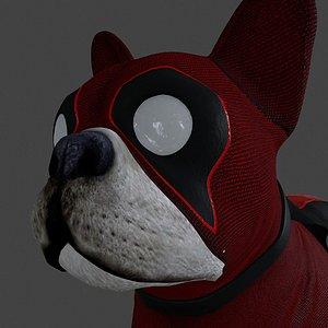 3D dog dpul