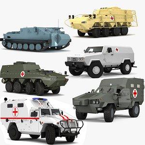 Ambulance Vehicle Collection 3D