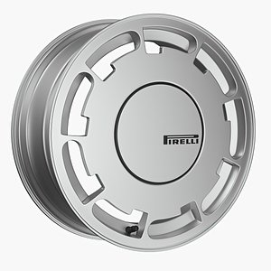 pirelli wheel alloy 3D