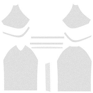 sport men shirt 3D model