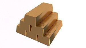 Gold Bar 1000g model