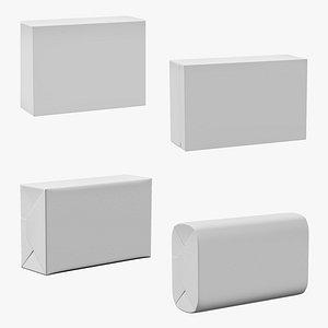 3D Packaging Soaps Set 02 model