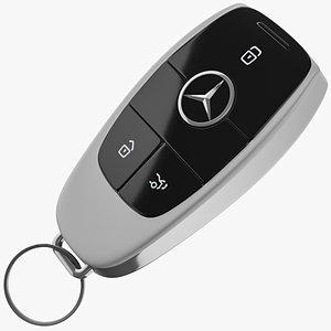 Mercedes Car Key model
