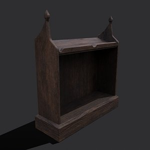 3D Medieval Elegant Writing Stand model