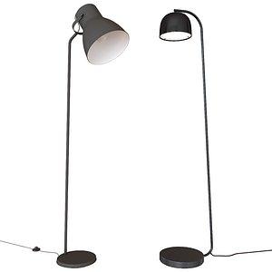 floor lamps ikea grant 3D
