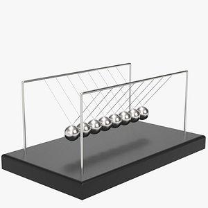 newton s cradle 3D