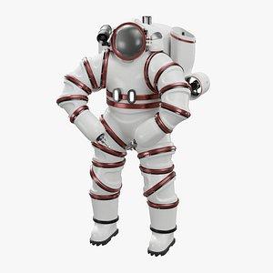 3D Atmospheric Diving Suit model