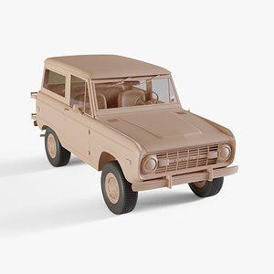 1975 Ford Bronco model