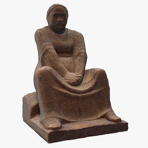 sculpture wood 3D