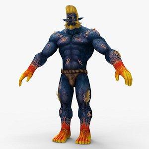 3D Harding strong man