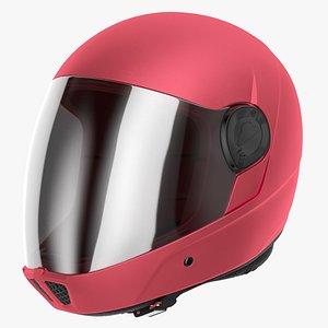 Cookie G4 Skydiving Helmet Red 3D model