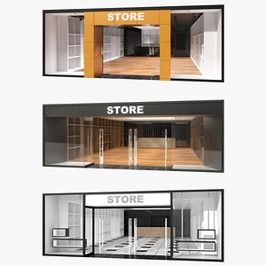 3D model Store Collection