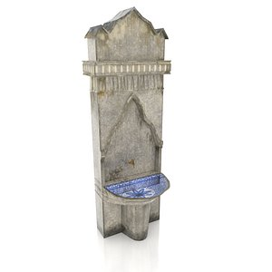 Medieval Fountain model