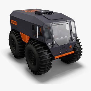 3D model 2020 sherp atv