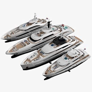 3D yacht ship vessel