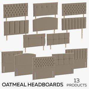 3D model Oatmeal Headboards