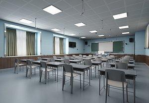 3D Classroom model