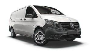 3D model Mercedes Benz Vito Panel Van L3 2021