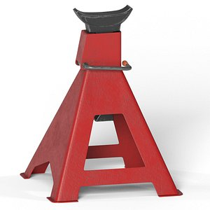 jack stand 3D model