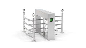 gate turnstile 3D