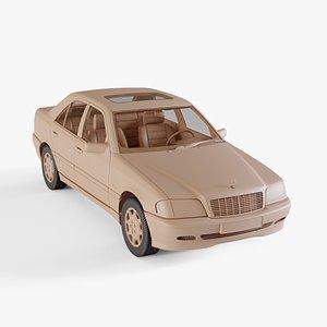 1997 Mercedes-Benz C Class 3D model