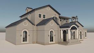 3D Mediterranean Mansion