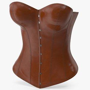 3D Leather Corset 3
