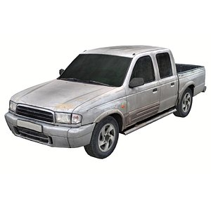 Old Pickup Scan 1 model