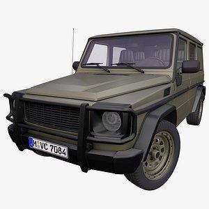 Generic Military car 3D