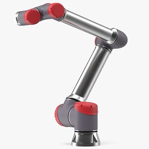 3D Collaborative Robot Rigged for Modo model