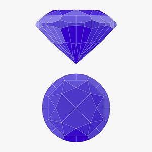 3D Zinnia Gemstone - 3D Printable