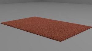 3D carpet fabric
