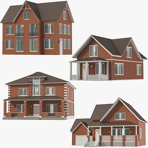 3D Classic House Collection 01